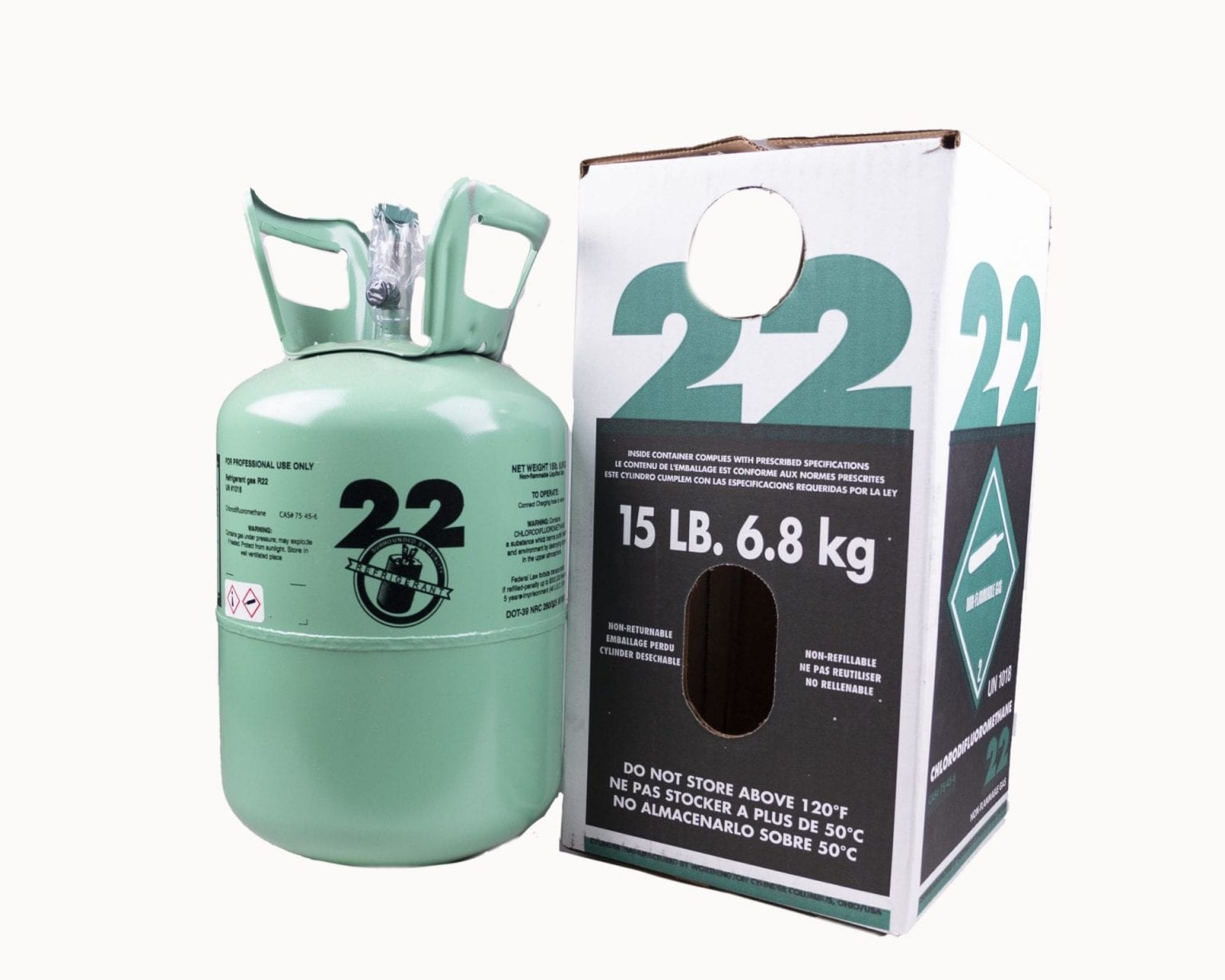 R22 Freon Charge AC