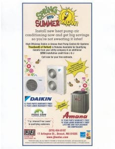 Check out our Montly Promotions
