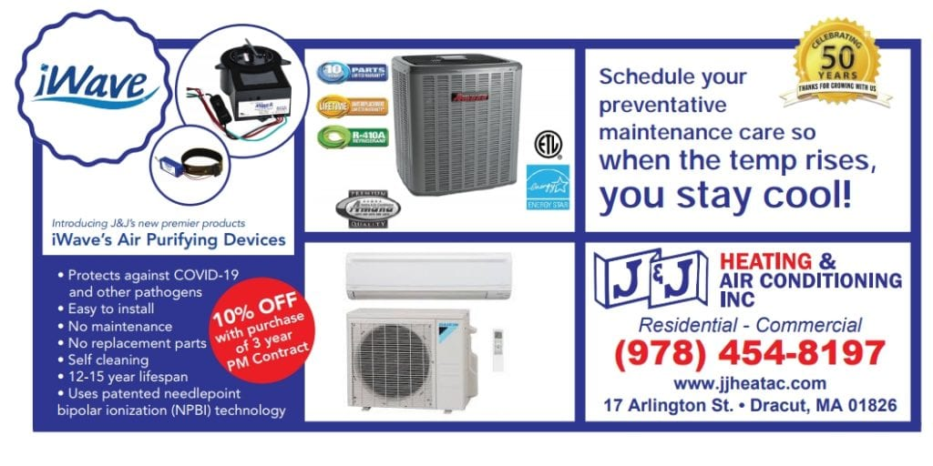 Spring Cleaning J&J Heating and Air Conditioning 17 Arlington Street Dracut MA